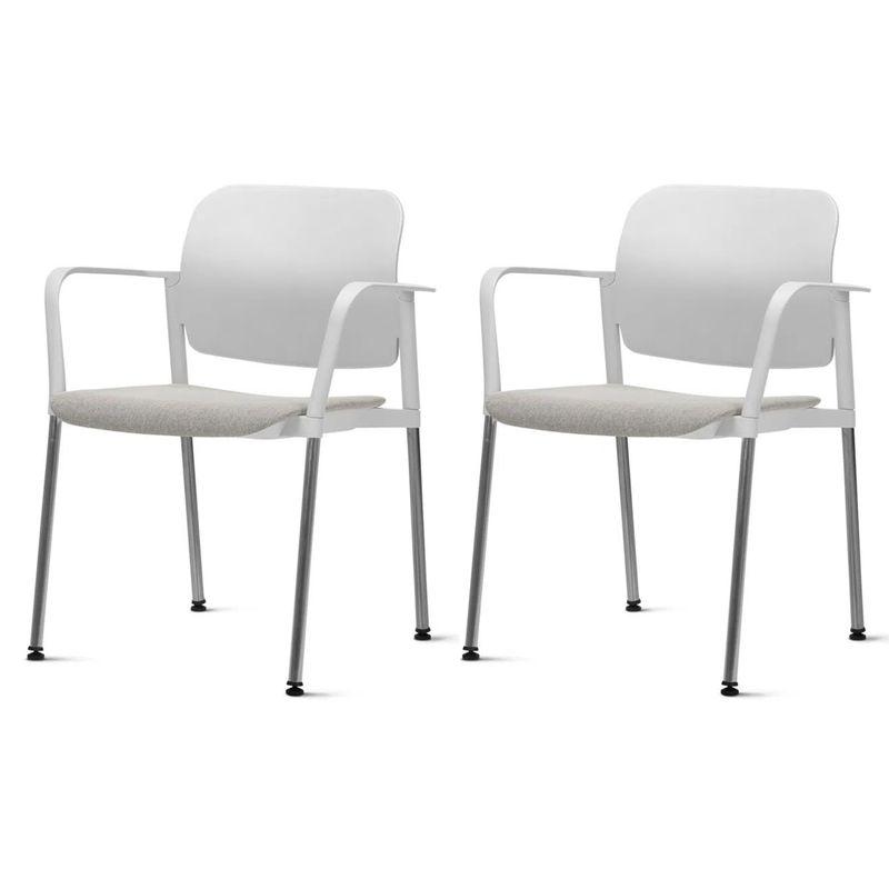 Kit-2-Cadeiras-Leaf-com-Bracos-Assento-Estofado-Branco-Base-Cromada---57394