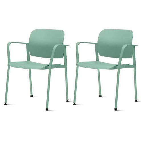 Kit-2-Cadeiras-Leaf-com-Bracos-Verde---57396