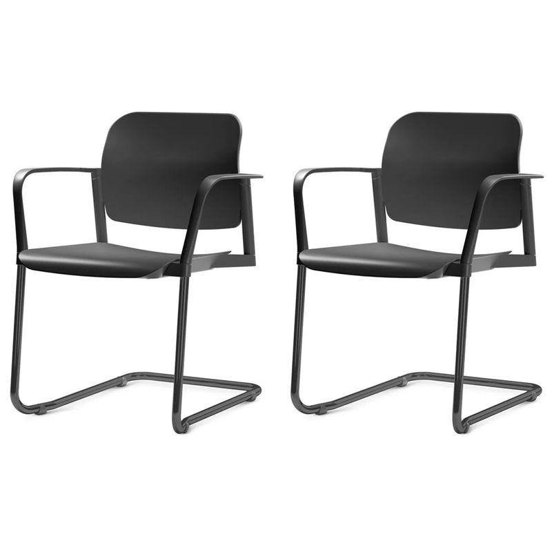 Kit-2-Cadeiras-Leaf-com-Bracos-Base-Fixa-Preta---57402