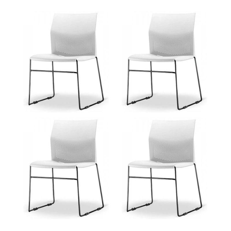 Kit-4-Cadeiras-Connect-Assento-Branco-Base-Fixa-Preta---57594