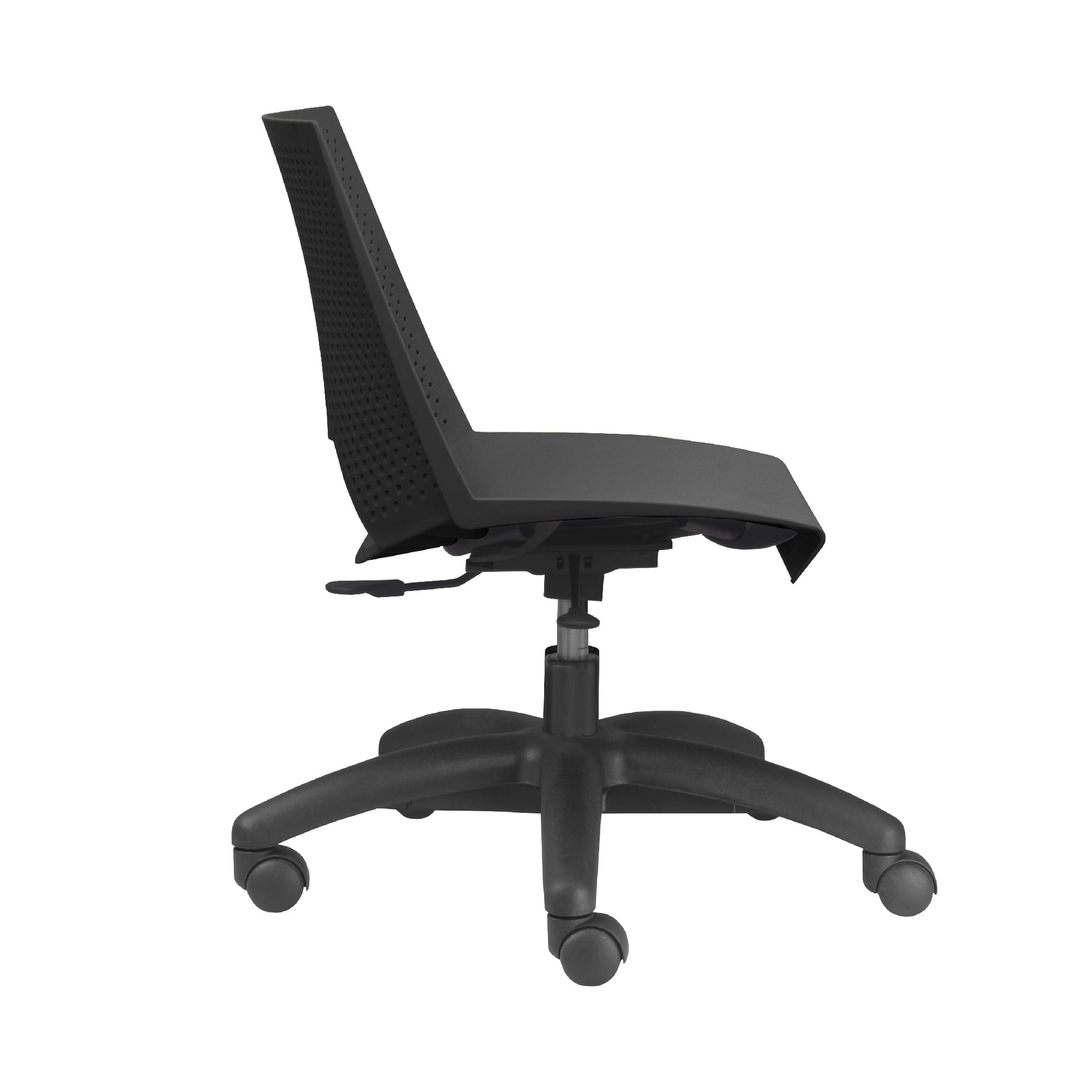Kit 5 Cadeiras Strike Base Rodizio Preta - 57636