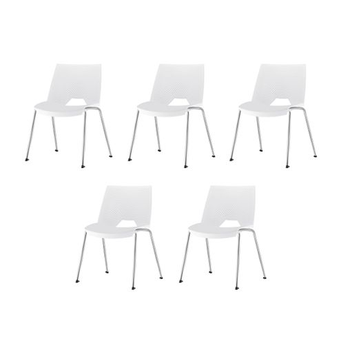 Kit-5-Cadeiras-Strike-Assento-Branco-Base-Cromada---57643