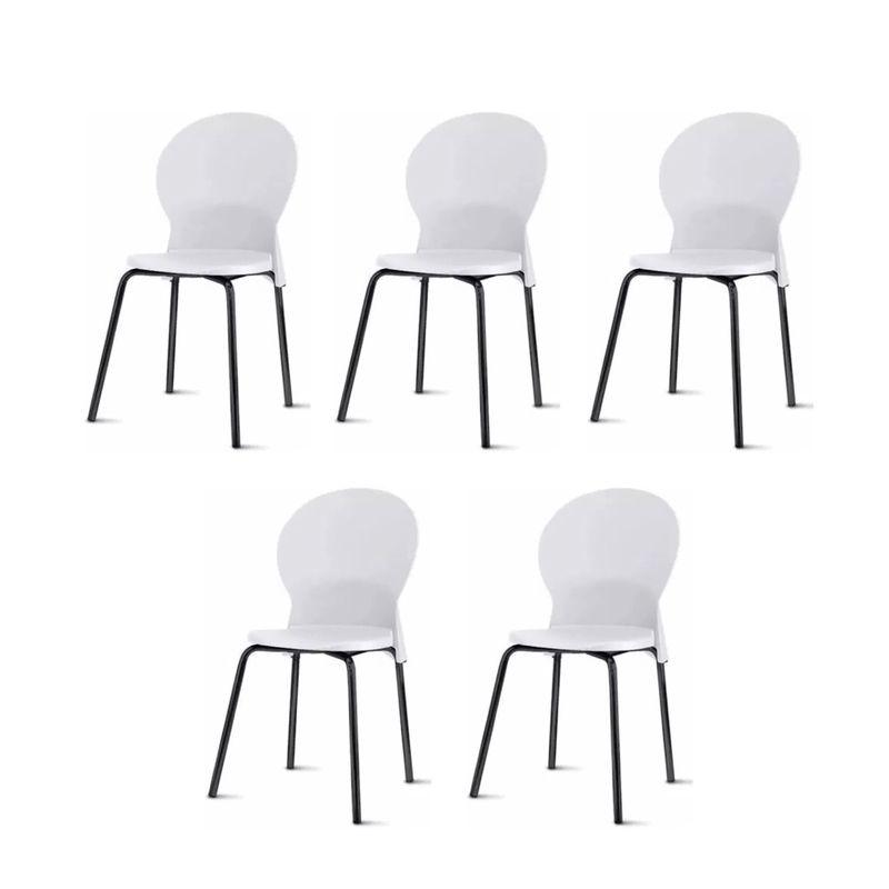 Kit-5-Cadeiras-Luna-Assento-Branco-Base-Preta---57698