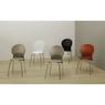Kit-5-Cadeiras-Luna-Assento-Laranja-Base-Preta---57700