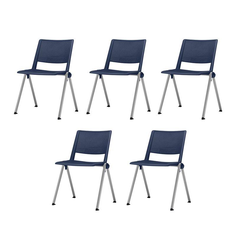 Kit-5-Cadeiras-Up-Assento-Azul-Base-Fixa-Cinza---57802