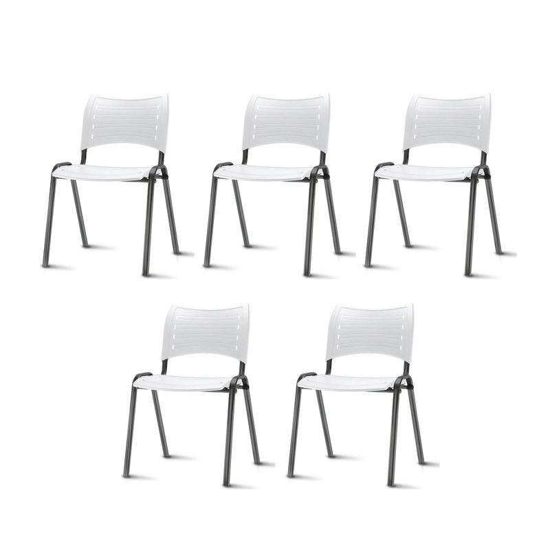 Kit-5-Cadeiras-Iso-Assento-Branco-Base-Preta---57930