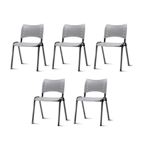 Kit-5-Cadeiras-Iso-Assento-Cinza-Base-Preta---57931-