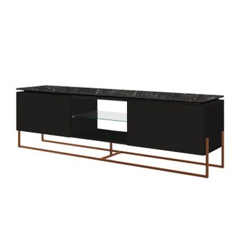 Rack-Dock-180-MT--LARG--cor-Marquina-com-Preto-Base-Cobre---58082