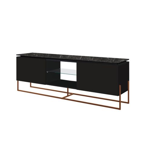 Rack-Dock-136-MT--LARG--cor-Marquina-com-Preto-Base-Cobre---58063