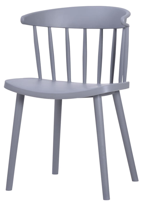 Cadeira Grid Polipropileno Cinza - 58154