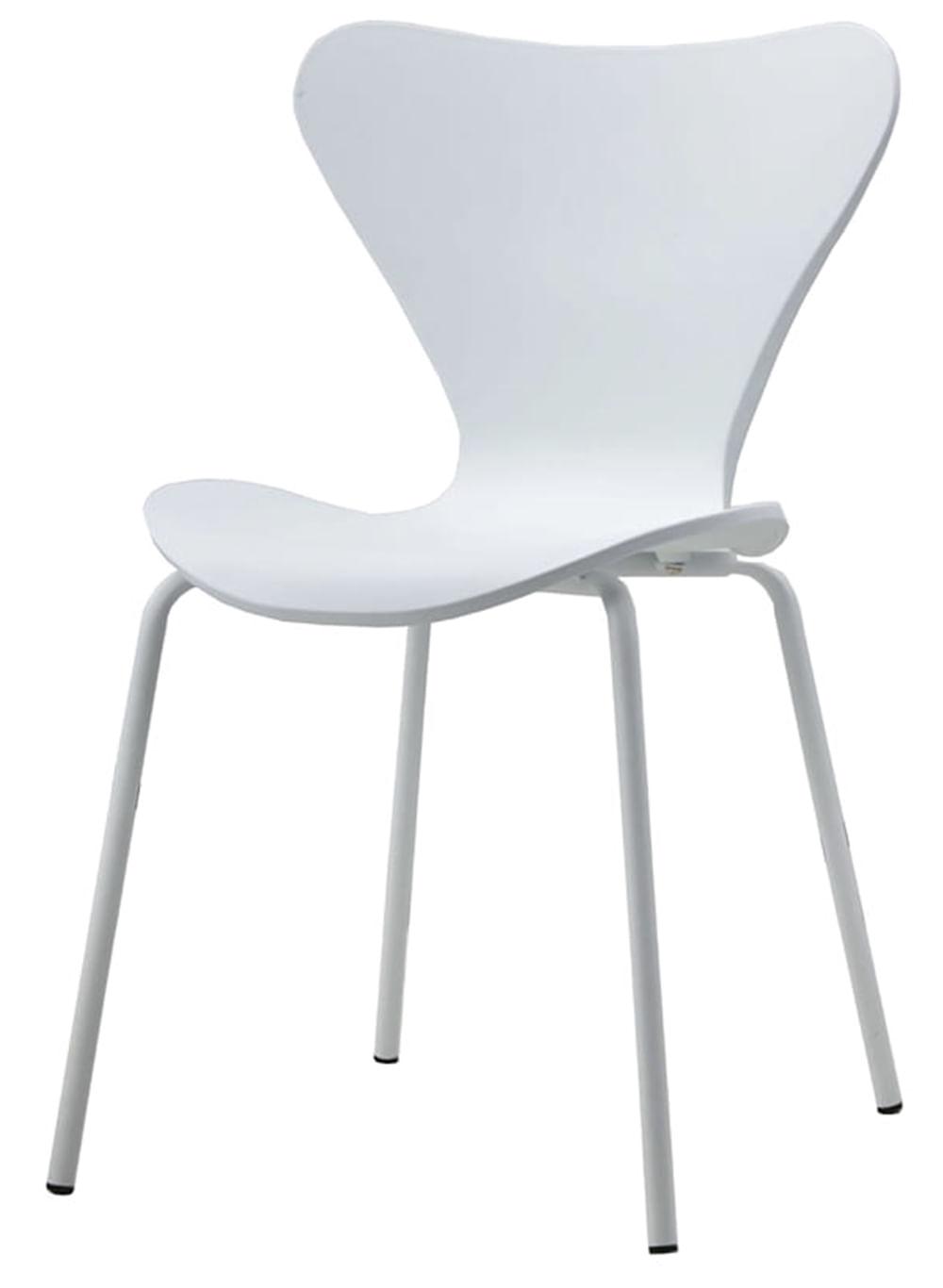 Cadeira Front Branca com Base Branca - 58159