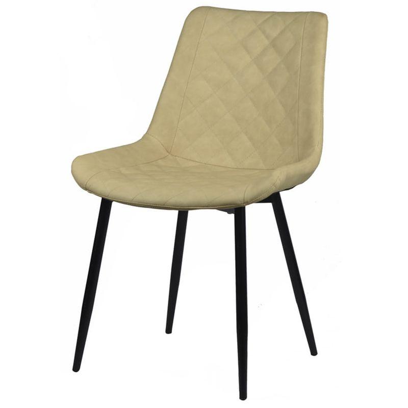 Cadeira-Canti-Estofada-Corino-Nude-com-Base-Preta---58172