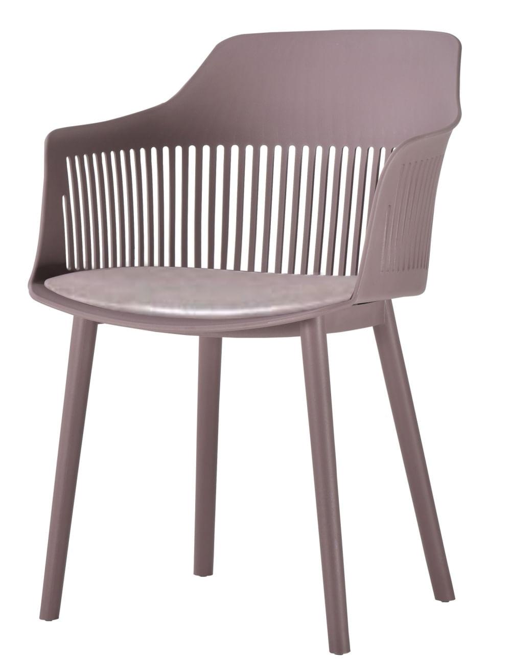 Cadeira Leslie Polipropileno Camurca - 58274