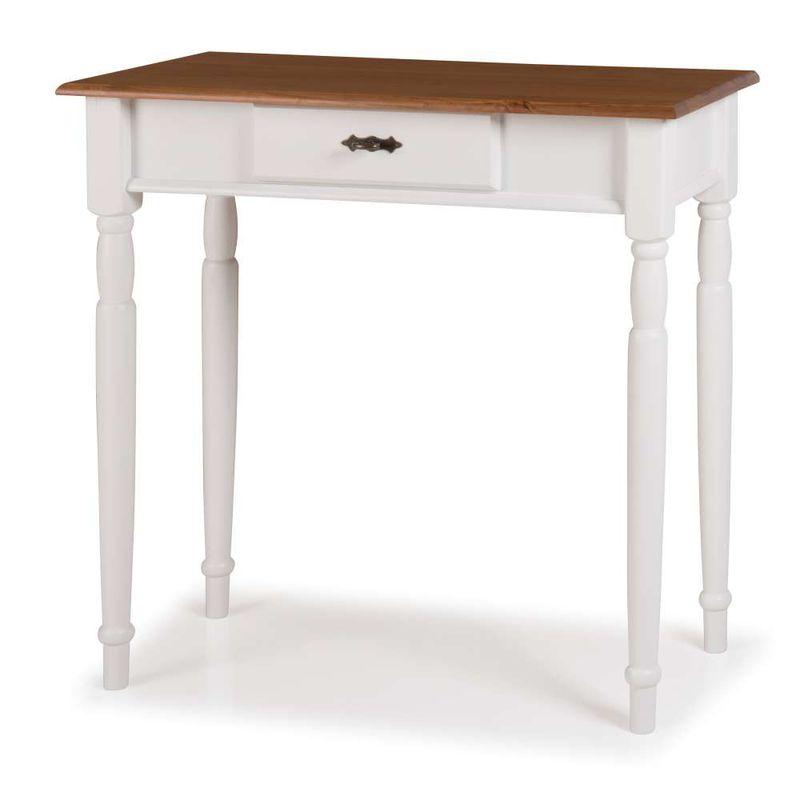 Aparador-Mini-Elegance-Branco-Com-Imbuia-Pes-Torneados-80cm--Larg----58814