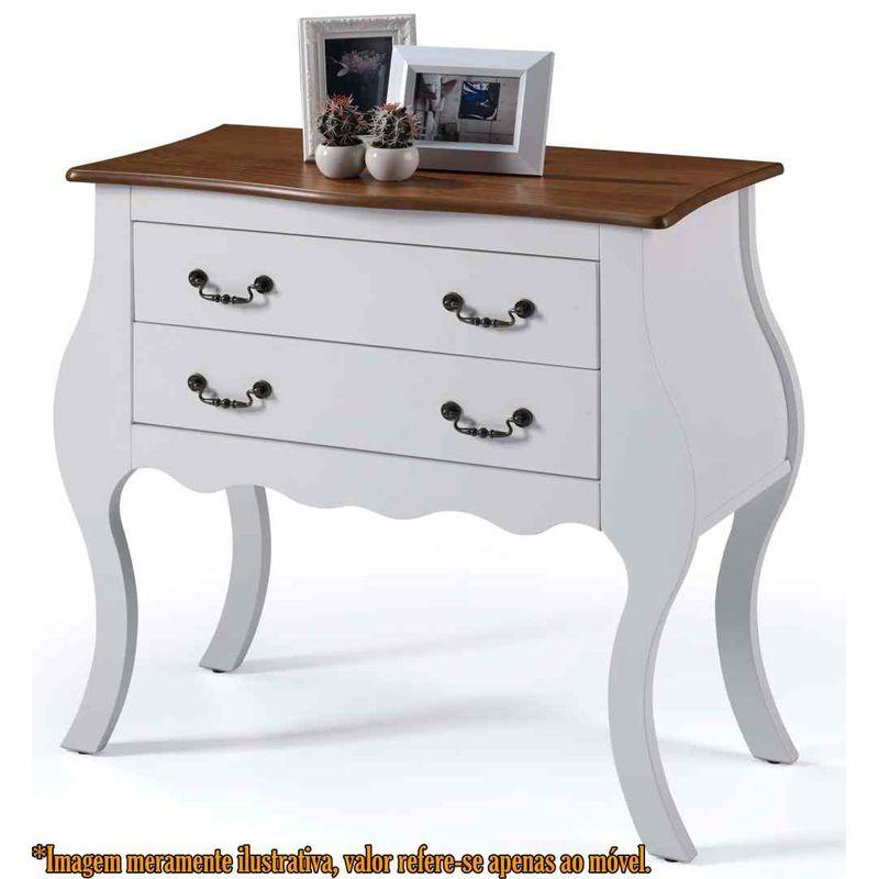 Comoda-Elegance-2-Gavetas-Branco-Com-Imbuia-90cm--Larg----58859