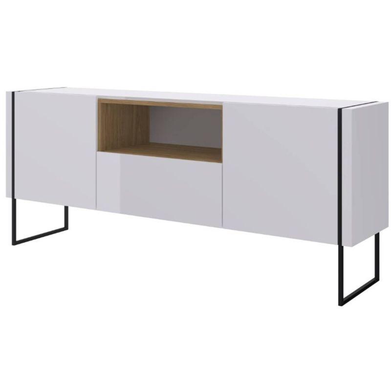 Buffet-Radaelli-Branco-Estrutura-Preta-Acabamento-Hanover-1470mm