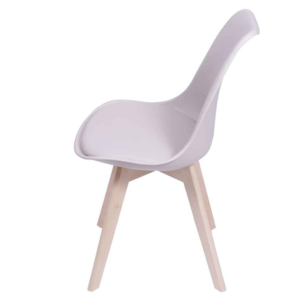 Cadeira Saarinen Fendi Base Madeira - 53447