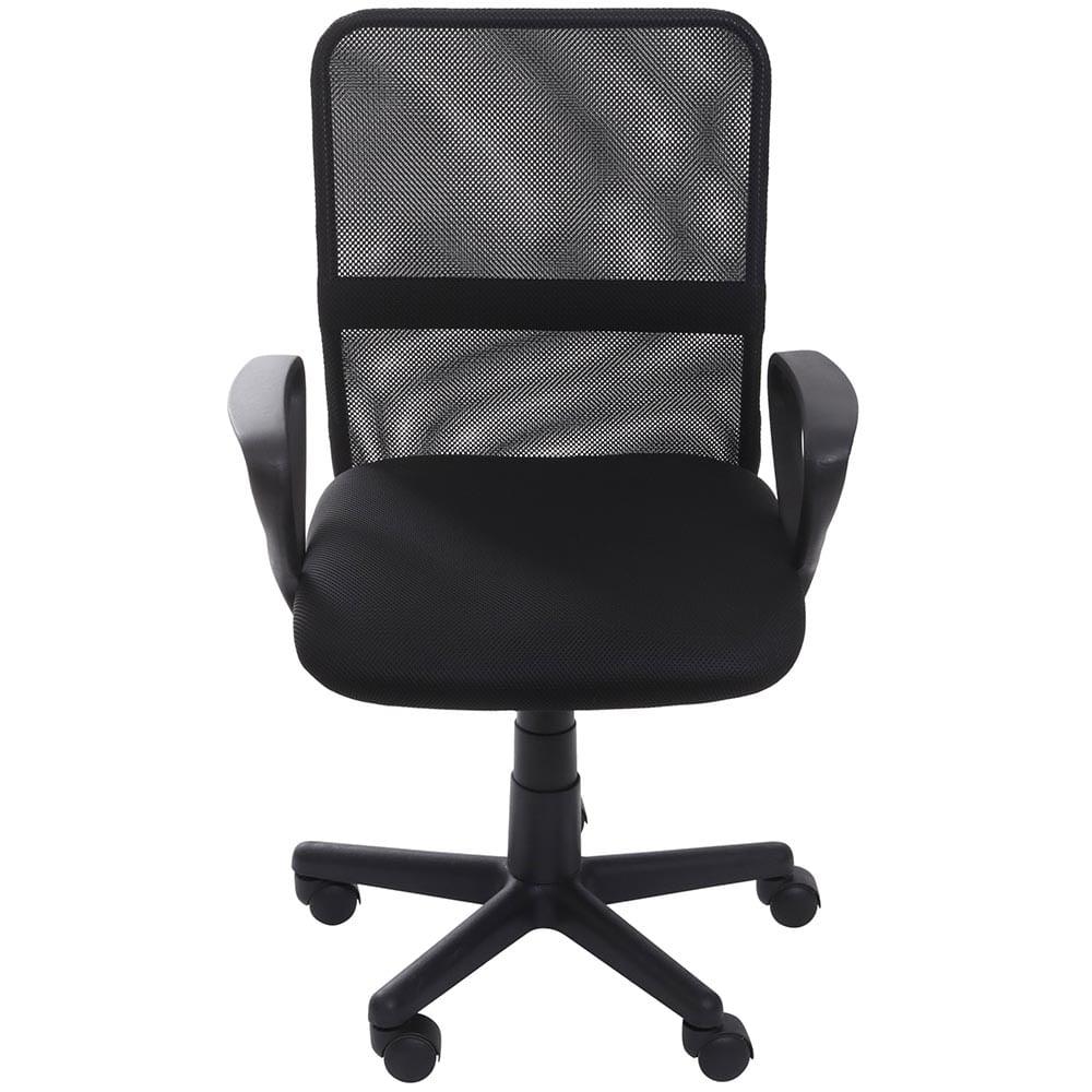 Cadeira Office Liffey Tela Preta com Base Nylon - 59258