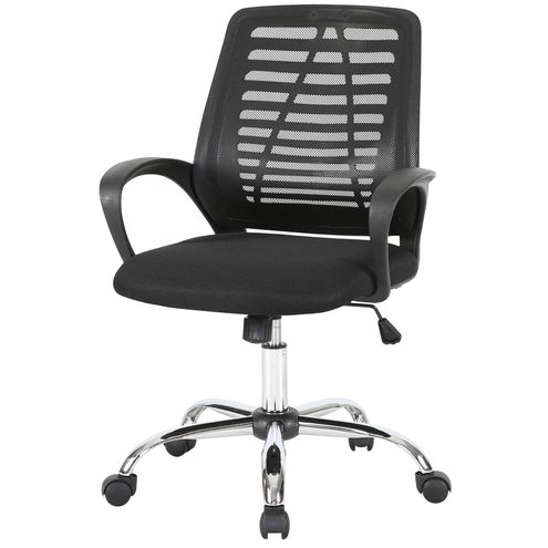 Cadeira-Office-Lenox-Tela-Preta-Base-Cromada---58456
