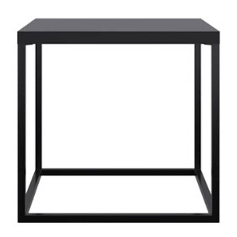 Mesa-Cube-Preta-Estrutura-Preta