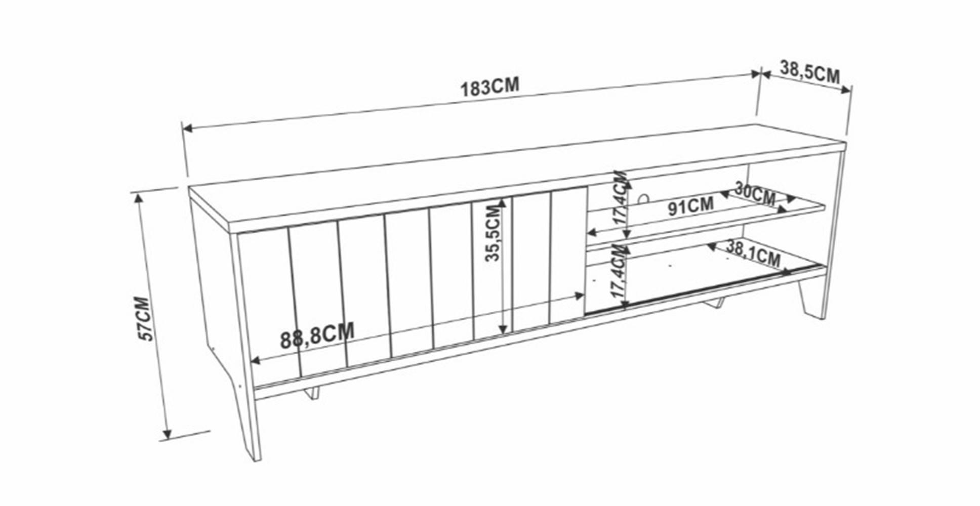 Rack Nanda Vermont 183cm - 41620
