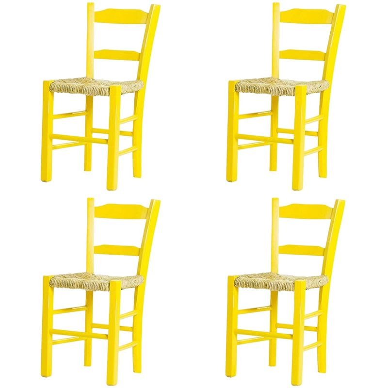 Kit-4-Cadeiras-Lagiana-Pequenas-Eucalipto-Amarela-Assento-Palha---59474