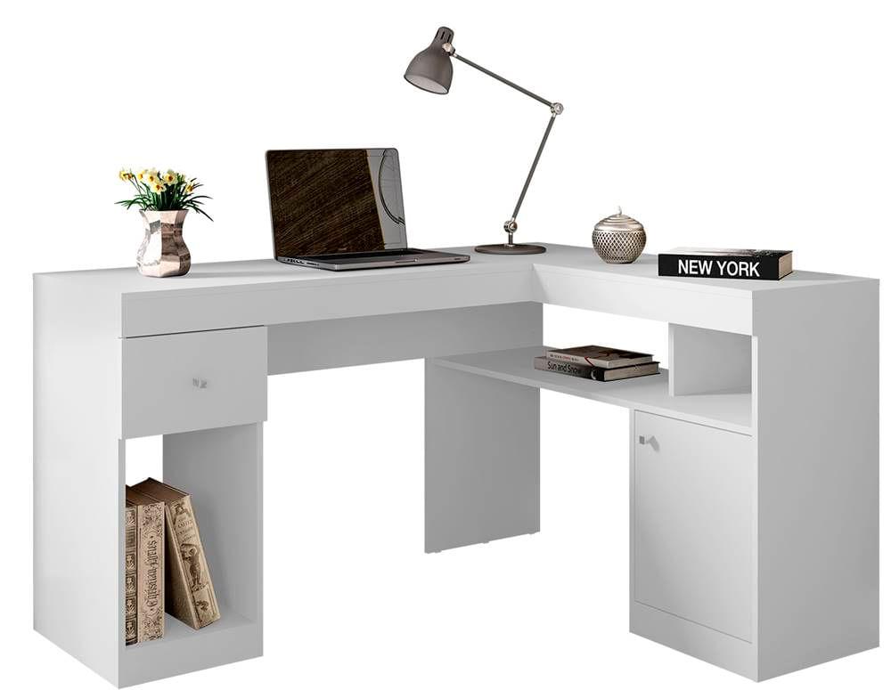 Mesa Office Disaro Branca 76cm - 59494