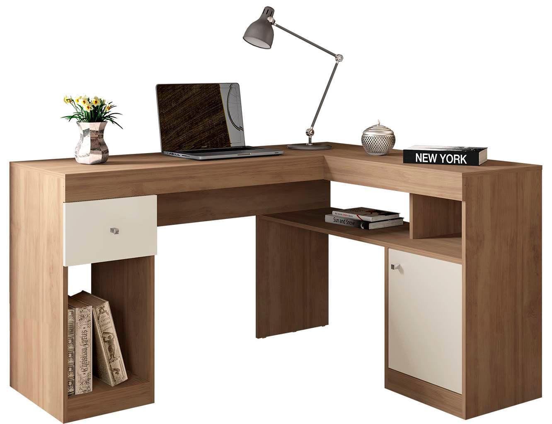 Mesa Office Disaro Buriti Off White 76cm - 59495