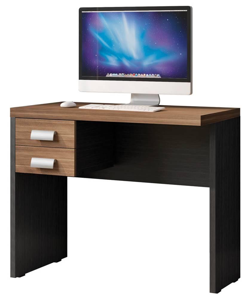 Mesa Office Berruezo Argan C/ Gaveteiro Acabamento Preto 90cm - 59498