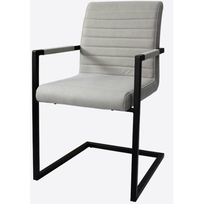 Cadeira-Ferrara-Cinza-Claro-com-Braco-Base-Aco-Preta---59513