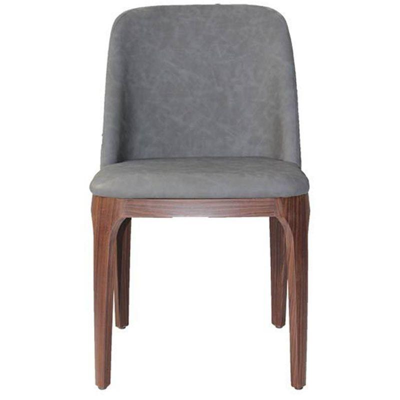 Cadeira-MKC-050-Courissimo-Cinza-Escuro-Base-Madeira-Escura-B