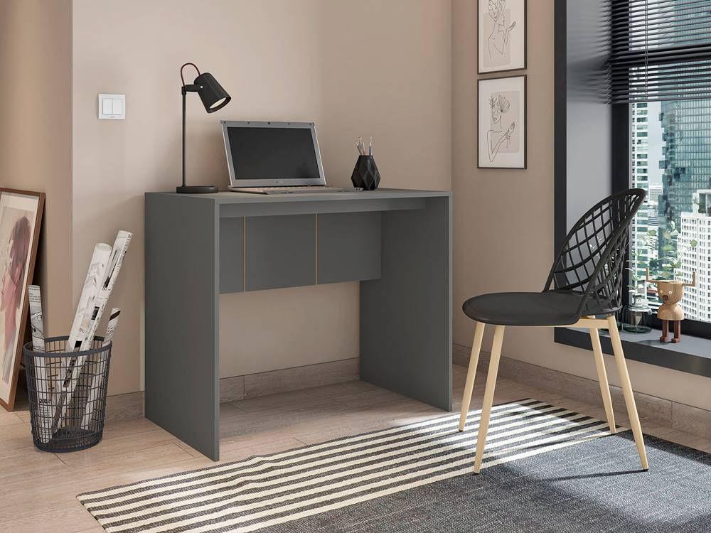 Mesa Office Dobe Chumbo Fosco 90cm - 59518