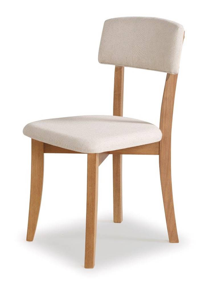 Cadeira Petani Encosto Estofado Branco 90cm - 59611