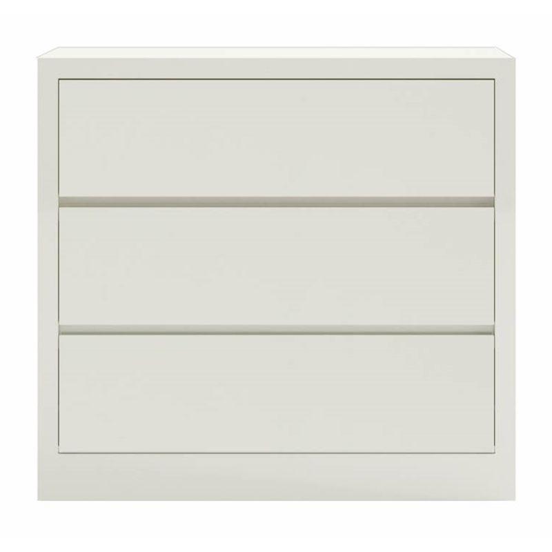 Comoda-Lyra-com-3-Gavetas-cor-Off-White-90-cm--LARG----56902