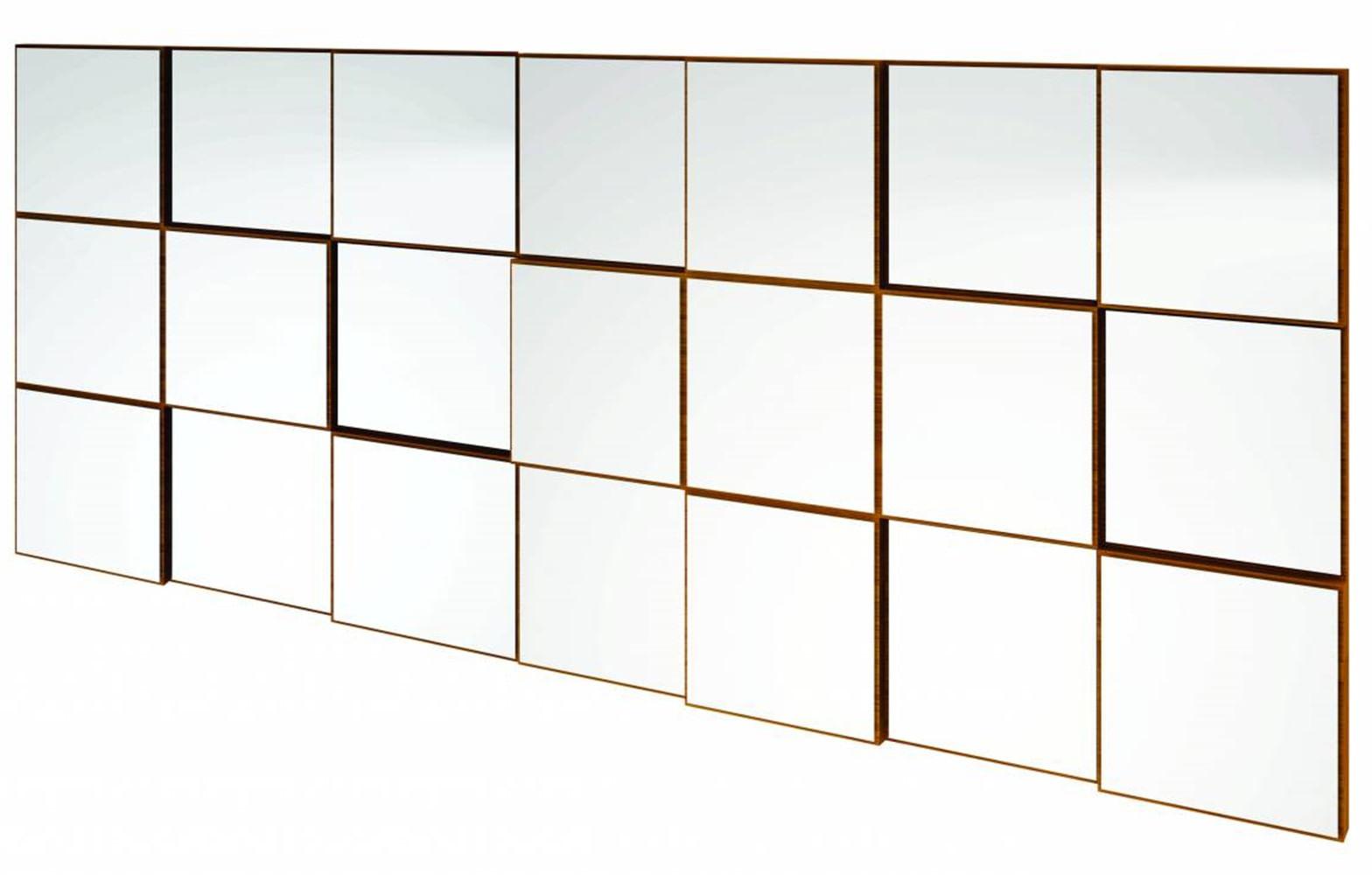 Quadro Espelho Argos Extra Grande 1,75 MT (LARG) cor Freijo - 59694