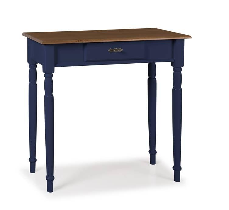 Aparador Mini Elegance Azul Petroleo Pes Torneados 80cm - 59843