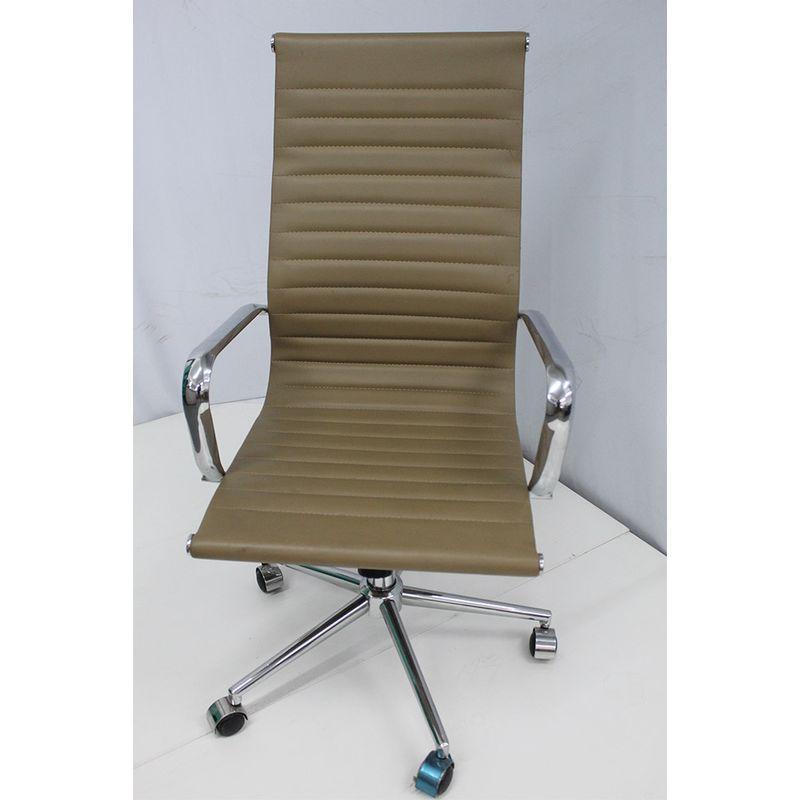 Cadeira-Office-OUTLET-Estofada-Alta-Caramelo-Cromada-