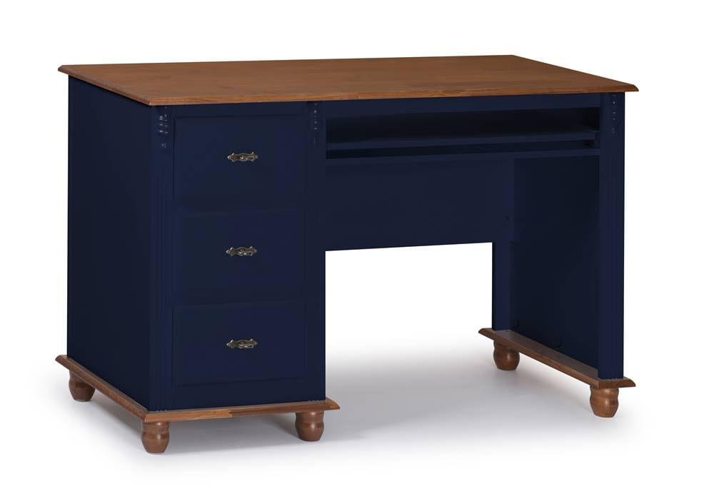Escrivaninha Benne Azul Petroelo 3 Gavetas 132cm - 59900