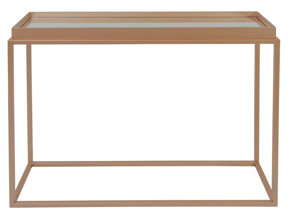 Mesa Lateral Loi Cobre Espelho 80 cm - 59969