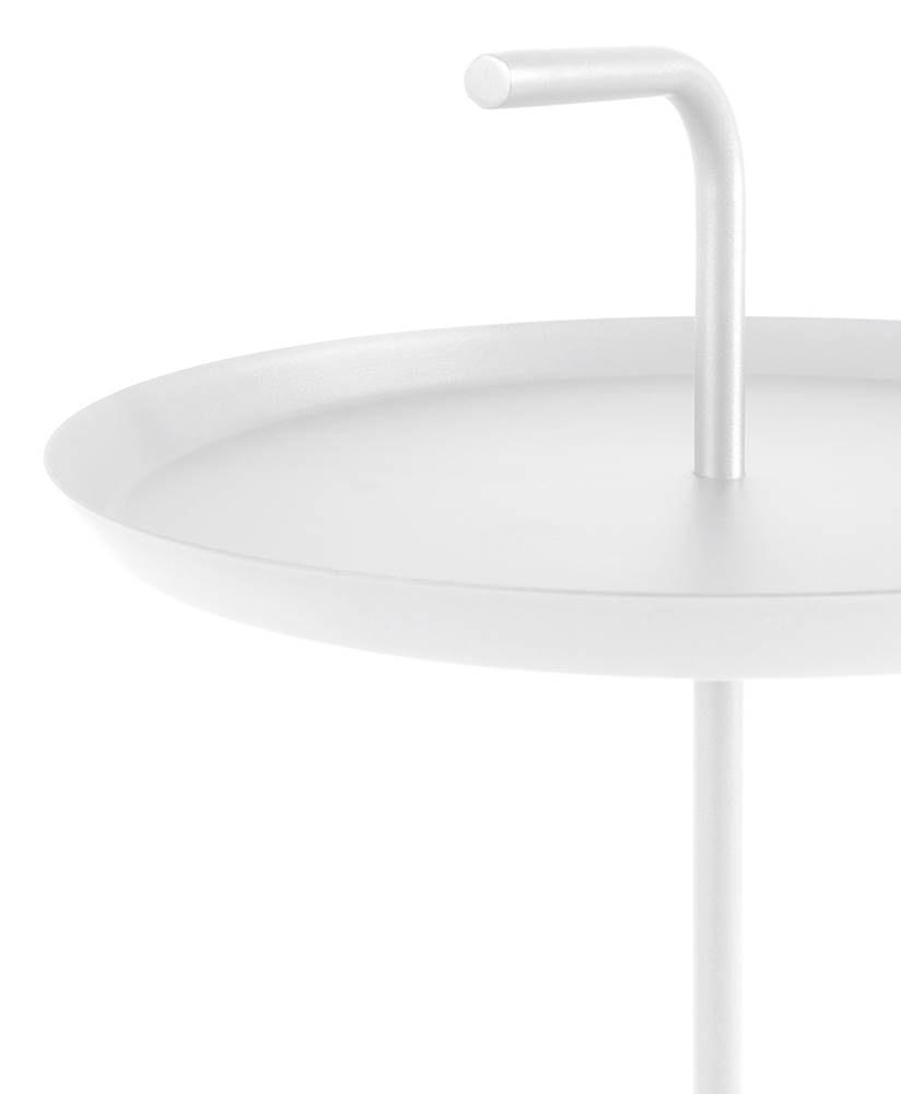 Mesa Apoio Handle Aco Branco 41 cm - 60017