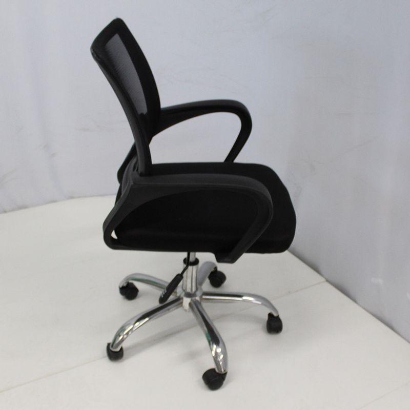 Cadeira-Office-OUTLET-Osorno-Telinha-Baixa-Preta-Cromada---10