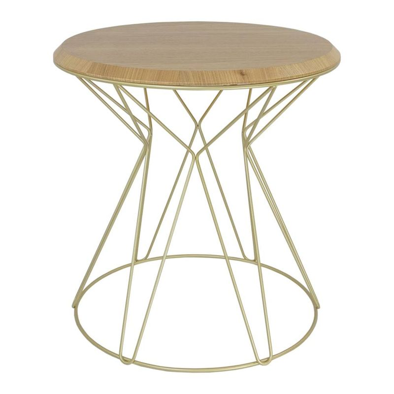 Mesa-Lateral-Smart-Louro-Freijo-base-Gold