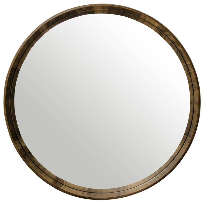 Espelho-Arizona-Ø60-Nogueira-Espelho-Prata