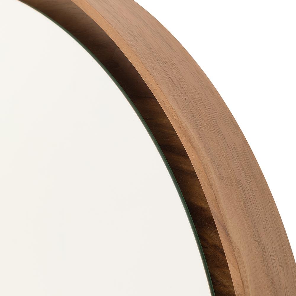 Espelho Lua Borda Nogueira 60cm - 60294