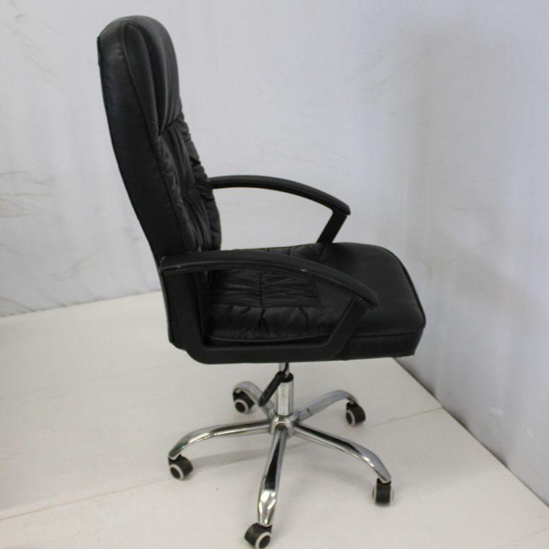 Cadeira-Office-OUTLET-American-Confort-Estofada-Alta-Preta-Cromada---10