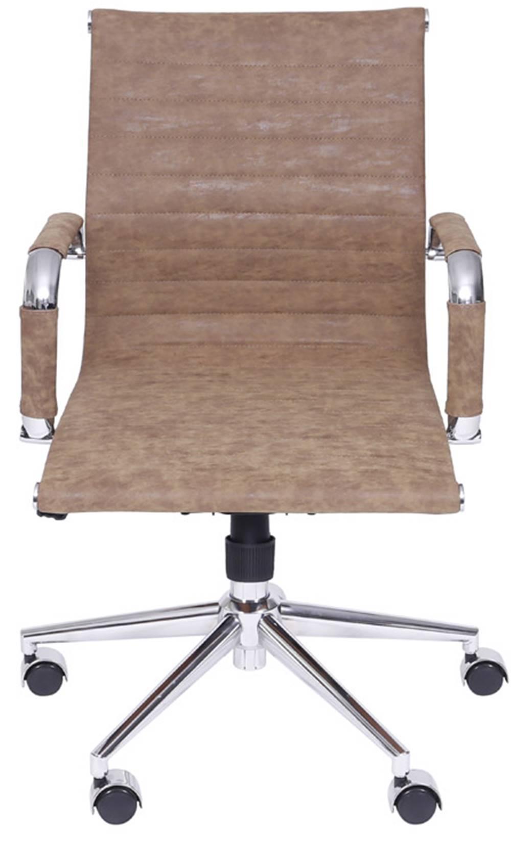 Cadeira Escritorio Eames Courissimo Retro Caramelo - 36910