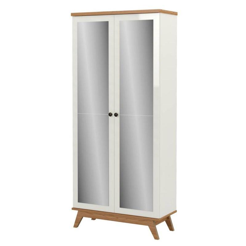 Sapateira-Campbell-2-Portas-Espelhadas-cor-Off-White-com-Freijo---60867-