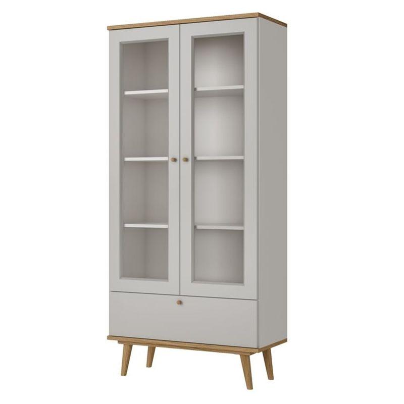 Cristaleira-Copper-2-Portas-Vidro-cor-Louro-e-Off-White---58433