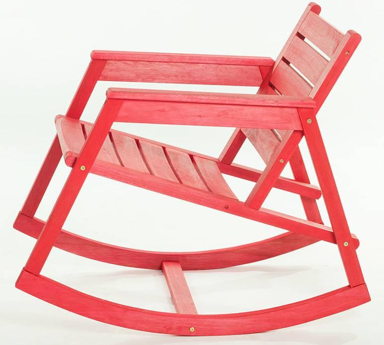 Cadeira Balanco Janis Vermelha 80cm - 61407