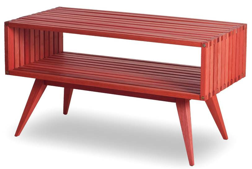Rack Dominoes Estrutura Vermelha 90cm - 61484